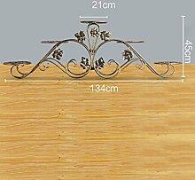 Blumenregal Bügelfußboden 5-lagiges Blumentopfgestell Europäische einfache Innen-und Außenbereich Pflanzen Bonsai Regale ( farbe : Gold , größe : 134cm*45cm )