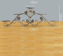 Blumenregal Bügelfußboden 5-lagiges Blumentopfgestell Europäische einfache Innen-und Außenbereich Pflanzen Bonsai Regale ( farbe : Gold , größe : 100cm*32cm )