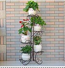 Blumenregal / Innen- und Außenpflanze Rahmen / mehrstöckige Treppenhaus Töpfe / Pflanze Blume Display Stand