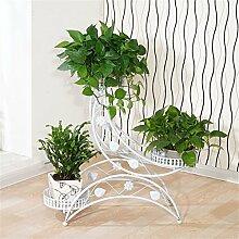 Blumenregale Eisen Metall Blumen Retro Regal für