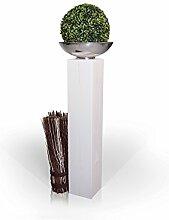 Blumensäule/Dekosäule, Material Massivholz,