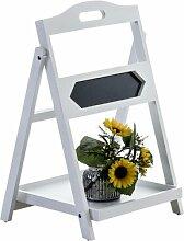 Blumensäule Verbrande Brambly Cottage Farbe: Weiß
