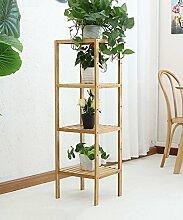 Blumenständer Blumentopf Regal Bambus Pflanze Stand Interieur Blume Rack Für Wohnzimmer Balkon ( größe : B )
