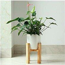 Blumenständer Einfach Holz Blumentopf Stehen