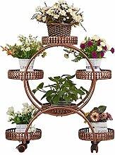 Blumenständer Iron art Multilayer Continental