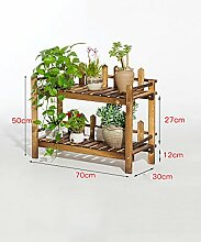 Blumenständer Massivholz Mehrstöckige Boden Pflanze Stand Blumentopf Regal Blume Rack Für Balkon Wohnzimmer Indoor ( größe : F )