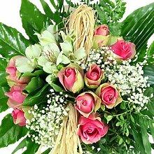 Blumenstrauß Geburtstag - Kreativ gebunden mit