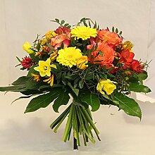 Blumenstrauß gelb orange Stimmungsmacher Size 35
