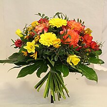 Blumenstrauß gelb orange Stimmungsmacher Size 40