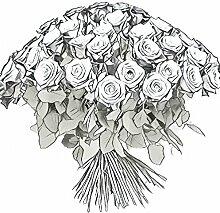 Blumenstrauß gemischte Rosen - Fair Trade Size 40