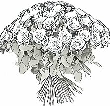 Blumenstrauß gemischte Rosen - Fair Trade Size 50