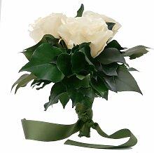 Blumenstrauss konserviert mit 3 Rosen - Rosemarie