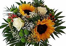 Blumenstrauß mit SONNENBLUMEN | Vom
