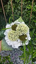 Blumenstrauss Nr.6 - weiss Strauß künstlich -