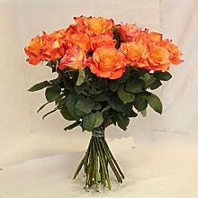 Blumenstrauß orangne Rosen Amore Size 120 Euro