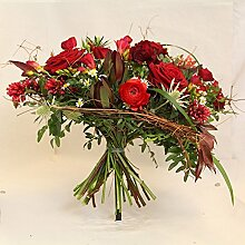 Blumenstrauß Purpurrot Size 45 Euro