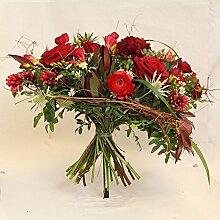 Blumenstrauß Purpurrot Size 60 Euro
