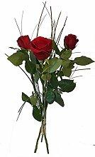 Blumenstrauß - rote Rosen -