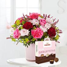 Blumenstrauß Schön, dass es Dich gibt mit Hachez