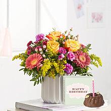 Blumenstrauß Spiel der Farben Größe M mit