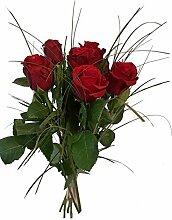 Blumenstrauß zum Geburtstag - rote Rosen - 1A