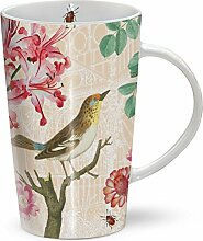 Blumentasse - Red Nerine - Mug - Becher - Latte