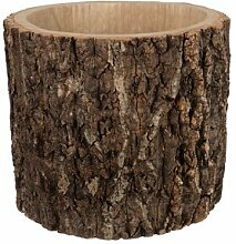 Blumentopf Allegro aus Holz Union Rustic