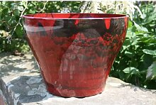 Blumentopf Alyson aus Ton Marlow Home Co. Farbe: