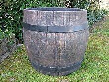 Blumentopf / Blumenkübel: Fass Barrel Gr. XXL
