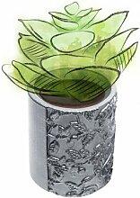 Blumentopf Brionna aus Beton Marlow Home Co.