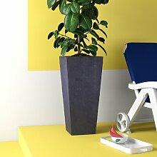 Blumentopf Contemporary Smooth aus Stein