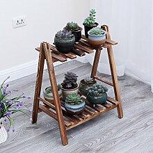 Blumentopf-Finish-Rack. Flower Frame Multi - Boden Bodentöpfe Topf Balkon Innen Blumen Regale Home Dekoration Blumen Racks Pflanzen vergoldet Rack ( größe : A )