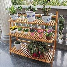 Blumentopf-Finish-Rack. Flower Rack Bücherregal Boden Regal Finishing Regale Regale Lagerregale Einfache Wohnzimmer Pflanzen vergoldet Rack ( größe : E )