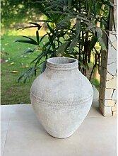 Blumentopf Loman aus Beton World Menagerie