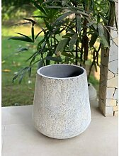 Blumentopf Munroe aus Beton World Menagerie