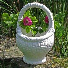 Blumentopf Schubert Garten Living Farbe: Weiß