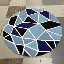 Blumentopfauflage / Stuhlmatte / Matte / Teppich, rund, einfacher Stil, rutschfestes Design ( größe : 80cm )