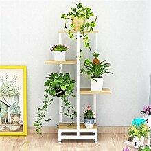Blumentreppe Pflanzenregal Pflanzentreppe 4 Stufen