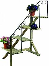 Blumentreppe Pflanzentreppe 107cm Pflanzregal