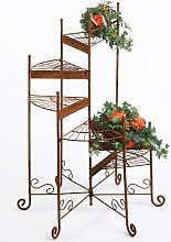Blumentreppe Pflanztreppe Blumenbank Metall -