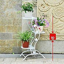 Blumentreppen 3 Reihen Blume/Pflanzen Regal