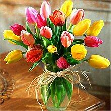 Blumenvase/Blumengesteck/Kreuzstich mit