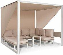 blumfeldt Havanna - Pavillon & Lounge-Set, Gazebo