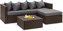 blumfeldt Theia Lounge Set Gartengarnitur -