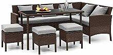 blumfeldt Titania Dining Lounge Set •