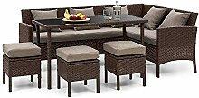 blumfeldt Titania Dining Lounge Set -
