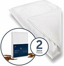 Blumtal 2er Set Milbenbezug Allergiker Bettbezug -