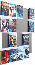 BluRay Regal - Design Blu-ray-Wand / Blu-ray