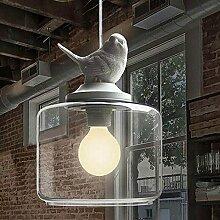 BLYC- Glas Einzel minimalistischen modernen, kreativen Birdie W20*H36cm Leuchter