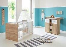 BMG Babymöbel-Set Maxim, (2-tlg), Bett +